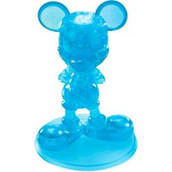 Фигурка 3D Кристал Пазл - Микки Маус (синий)