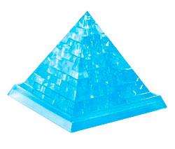 Фигурка 3D Кристал Пазл - Пирамида (синий)