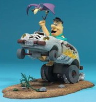 Hanna Barbera - Fred Flintstone in Cruiser