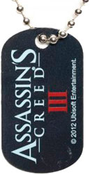 Assassin's Creed III - Metal Dog Tag