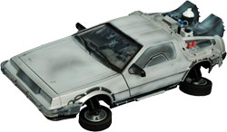 Фигурка Back to the Future 2 - DeLorean Frozen Time Machine 1:15