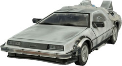 Фигурка Back to the Future - DeLorean Iced Time Machine 1:15 (30th Anniversary Edition)