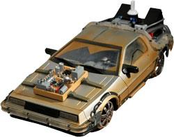 Back to the Future III - DeLorean Time Machine Railroad 1:15