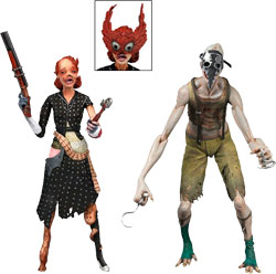 Bioshock 2 - Splicer Ladysmith and Crawler