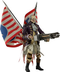 Фигурка Bioshock Infinite - Benjamin Franklin Motorized Patriot