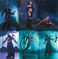 Clive Barker's Tortured Souls - Set (Set of 6)