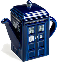 Doctor Who - Tardis Tea Pot