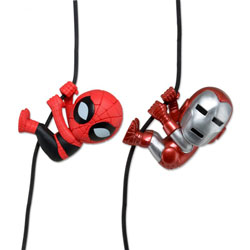 Ironman & Spiderman (2 Pack) (Scalers Mini Figure)