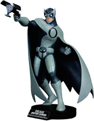 Justice League - Crisis On Two Earths Owlman DVD Maquette