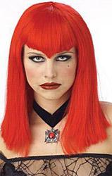 Парик - Вампирши Красный