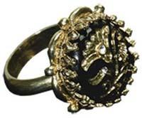Pirates Of The Caribbean - Jack Sparrow Button Ring