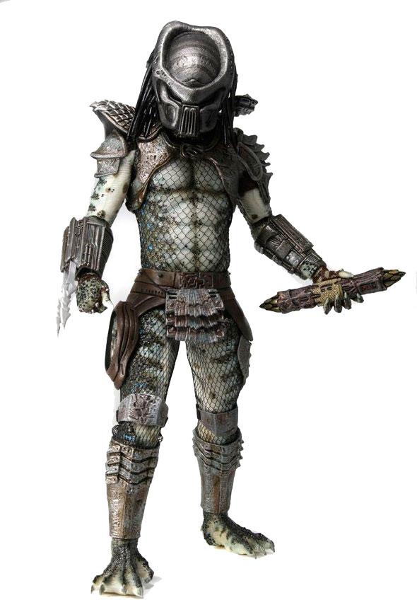 Оригинальная большая фигурка Хищника - Warrior. Фигурка является