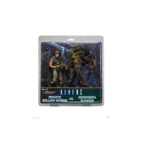 Aliens - Hudson vs Brown Warrior 2 Pack