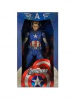 Avengers - Captain America (Battle Damaged) 1/4