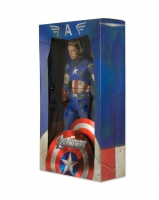 Avengers - Captain America (Battle Damaged) 1/4