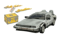 Back to the Future - DeLorean Iced Time Machine 1:15 (30th Anniversary Edition)
