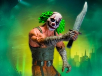 Batman Arkham City - Clown Thug with Knife