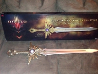 Diablo III - El'Druin, The Sword of Justice (Prop Replica)