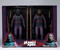 Planet of the Apes - Classic Gorilla Soldier 2 Pack