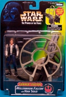 Star Wars - Gunner Stations Millennium Falcon with Han Solo