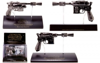 Star Wars - Han Solo Blaster 0.33 Scale (Replica Dark Chrome) Ep5