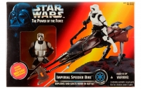 Star Wars - Imperial Speeder Bike with Biker Scout Stormtrooper Ep6