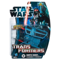 Star Wars - Transformers:Darth Vader/TIE Advanced X1 Starfighter