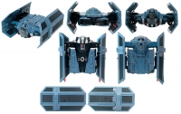 Star Wars - Transformers:Darth Vader/TIE Advanced X1 Starfighter