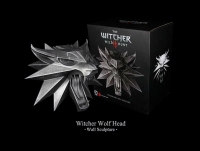 The Witcher 3 - Wolf Wall Sculpture