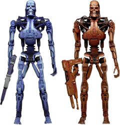 Фигурка Robocop vs. Terminator - Endoskeleton (2 Pack)