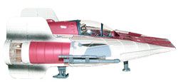 Фигурка Star Wars - A-Wing Fighter