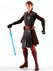 Фигурка Star Wars - Anakin Skywalker (Firing Lightsaber Launcher) CW