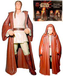 Фигурка Star Wars - Anakin Skywalker / Obi-Wan Kenobi (Figure Collector 2-Pack) Ep1