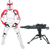 Star Wars - Clone Trooper with Firing Tripod Cannon Ep2