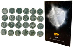 Фигурка Star Wars - Coins with Album (Set of 24)