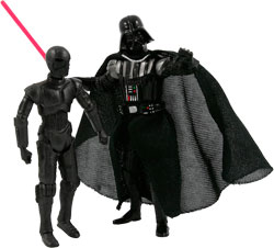 Фигурка Star Wars - Darth Vader & K-3PX