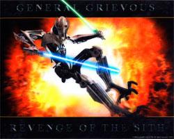 Фигурка Star Wars - General Grievous Poster