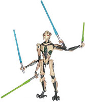 Star Wars - General Grievous with Four Lightsabers Ep3