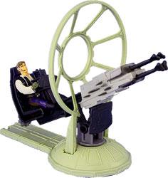 Фигурка Star Wars - Gunner Stations Millennium Falcon with Han Solo