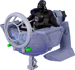 Фигурка Star Wars - Gunner Stations Tie Fighter with Darth Vader