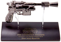 Фигурка Star Wars - Han Solo Blaster 0.33 Scale (Replica Dark Chrome) Ep5