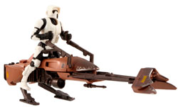 Фигурка Star Wars - Imperial Speeder Bike with Biker Scout Stormtrooper Ep6