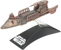 Фигурка Star Wars - Jabbas Desert Skiff Titanium Series Die Cast Metal