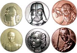 Фигурка Star Wars - Metal Coins (Set of 6)