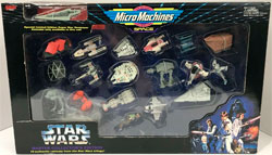 Star Wars - MicroMachines Master Collectors Edition 19 Vehicles