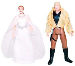 Star Wars - Princess Leia and Luke Skywalker (Ceremonial)