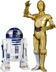 Фигурка Star Wars - R2-D2 & C-3PO 1/10