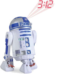 Star Wars - R2-D2 Projection Alarm Clock with Sound