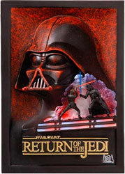Фигурка Star Wars - Return of the Jedi 3D Poster