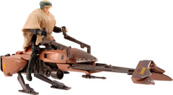 Фигурка Star Wars - Speeder Bike With Luke Skywalker Ep6